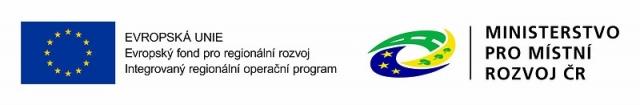 logo Evropské unie,logo ministerstva pro místní rozvoj